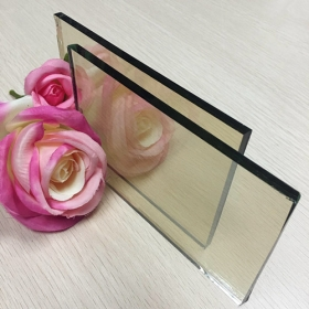 China 4mm clear reflective glass supplier, 4mm silver color reflective float glass price factory