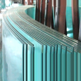 China 5mm custom size curved tempered glass manufacturer 1/5'' curved toughened glass cost factory