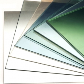 China 5mm single silver low-e glass,China 5mm clear low-e coating glass price,5mm low e window glass price factory