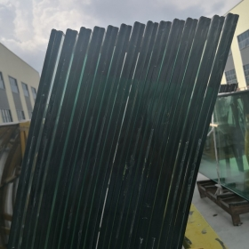 China 6+1.52mm SGP+6mm curved laminated glass, 13.52mm SentryGlas laminated glass price factory