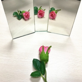 China 6mm environmental-friendly mirror,China lead-free mirror,copper-free silver mirror supplier factory