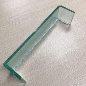 China 7mm translucent tempered u channel glass factory china factory
