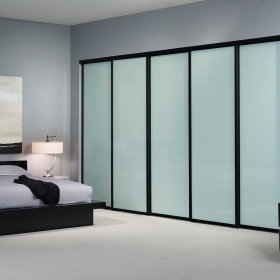 China 8mm, 10mm, 12mm frosted sliding glass door, interior tempered glass door,  shower glass door price. factory