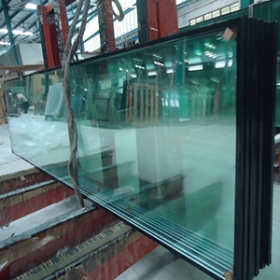 China 8mm+6A+8mm double tempered insulated glass panels for commercial windows , tall building insulated  glass panes for sale factory