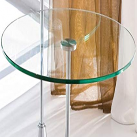 China 8mm clear round toughened glass panels, heat resistant tempered glass, toughened glass for round table. factory