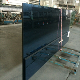 Chine Building 8mm blue heat reflective tempered glass,reflective toughened glass, tempered tinted reflective glass, reflective tempered coated glass. usine