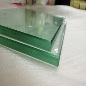 China Building Glass 12mm laminated Glass for Office Door factory