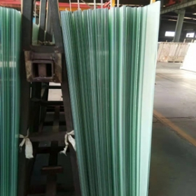 China CE standard 21.52mm milky white tempered laminated glass 1010.4 ESG VSG 10+10mm white laminates for sale factory
