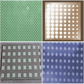 China China 3-19mm Colored and Patterned Silk Screen Printed Tempered Glass Manufacturer factory