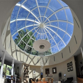 China China 8+8mm safety flat and curved tempered laminated glass skylight suppliers factory