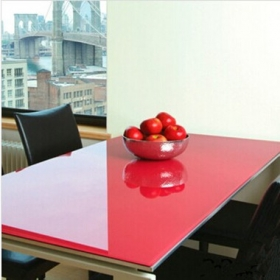 China China high quality Lacquered glass table tops supplier factory