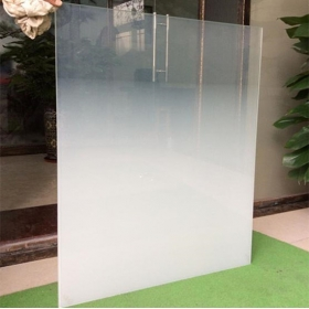 China China high quality architectural decorative gradient acid etched glass suppliers factory