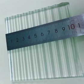 China China high quality safety 4mm 5mm 6mm 8mm 10mm 12mm 15mm 19mm clear tempered reeded fluted la-wave ribbed glass manufacturers factory