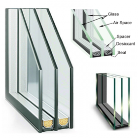 Cheap price reflective insulated glass china double for High insulation windows