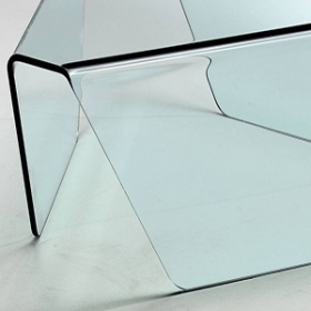 Chiny China laminated curved bent glass manufacturers for price hot bent glass supplier fabrycznie