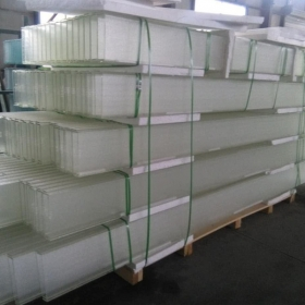 China Custom-made high-transparent 10mm low iron U channel glass prices factory