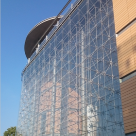 China Customized impact-resistant safety laminated glass curtain wall facade China suppliers factory