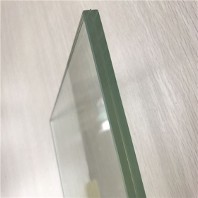 China Cut to size PVB and SGP interlayer heat strengthened laminated glass supplier China factory