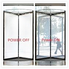 China Electrically switchable smart glass,4+4 PDLC switchable glass manufacturers factory