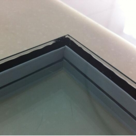 China Energy efficient black warm edge spacer double triple insulating glazing unit manufacturer china factory
