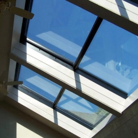 China Excellent Quality 4+4mm Toughened Laminated Glass Skylight Factory China factory