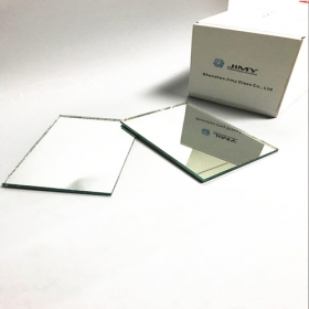 China Export custom cut size 6mm double coated aluminum float mirror supplier in China factory