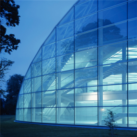 China Export energy saving 4mm+9A+4mm insulated glass curtain wall from China factory