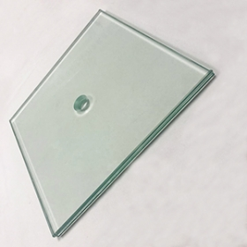 China Factory manufacture buildings tempered laminated glass customized size in China factory