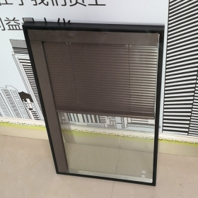 China Factory supply openable glazed louvers high quality customized size design insulated glass double glazing with automatic shutter factory