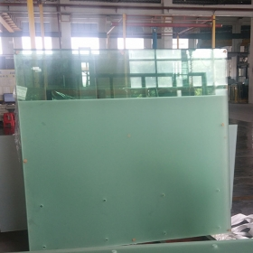 China Frameless glass balcony railing, frosted glass balcony balustrade, frosted glass railing, glass balcony panels prices factory