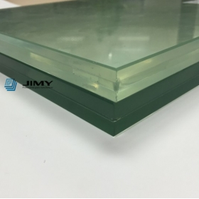 China Good price 15mm+1.52mm PVB SGP interlayer+ 15mm tempered laminated safety glass manufacturer China factory