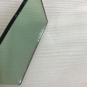 China Import 4mm French green color hard coating reflective glass from China factory factory