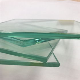 China SGCC certification 553 clear heat strengthened laminated glass 11.14mm price factory