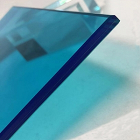 China Safety colored laminated glass factory clear laminated glass  tinted tempered laminated glass factory