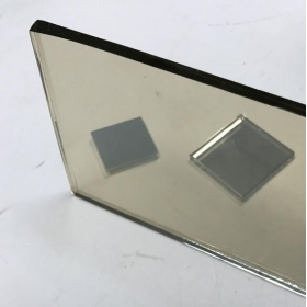 China Silver white reflective glass 5mm clear coated reflective float glass price factory