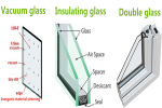 The difference between double glass, vacuum glass and insulating glass