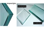 How to distinguish the toughened glass, float glass and ultra-white glass