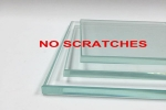 Scratch treatment of tempered glass