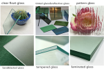 Simple analysis the seven types home decoration glass