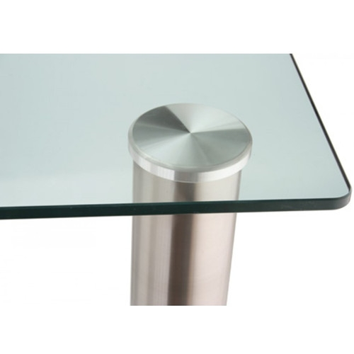 Glass Top Dining Table Rectangle