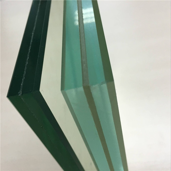 17.52mm clear PVB tempered laminated glass,China 884 ESG ...