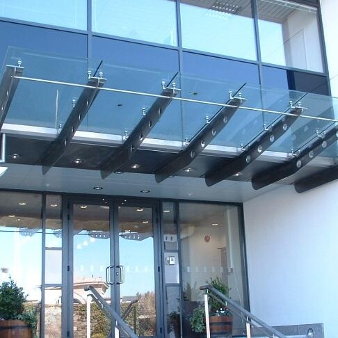 5 5mm Laminated Glass Canopy Thickness 5 5mm Glass Canopy