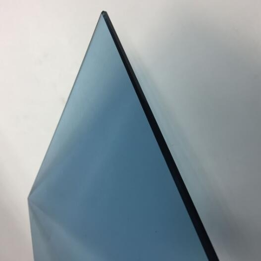 Wholesale 6mm Blue Toughened Glass Cost Of Tempered Glass
