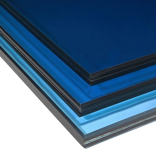 8 38mm Color Pvb Laminated Glass 8 38mm Color Tinted