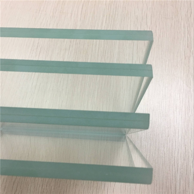 8 76mm Ultra Clear Tempered Laminated Glass 442 Low Iron
