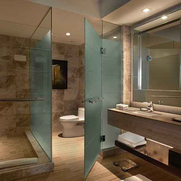 Acid Etched Glass Shower Door Price Frosted Glass