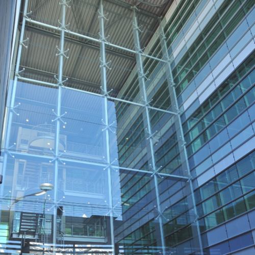 China Curtain Wall Glass Suppliers Facade Safety