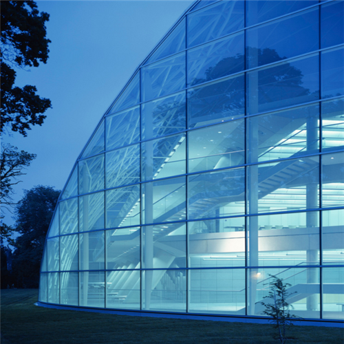 Curtain Wall Glazing : Color reflective insulated glass cost mm a low e