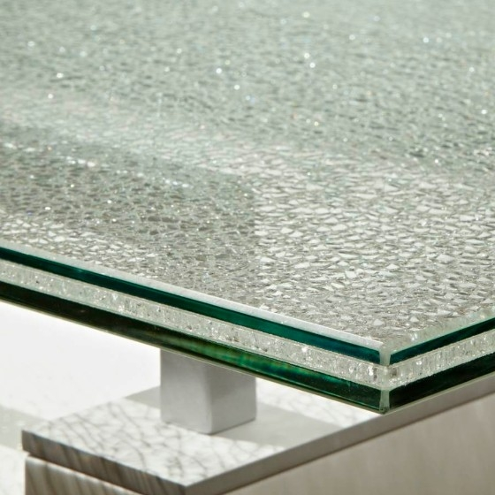 Good Price 5+5+5mm Ice Cracked Laminated Glass Table Top Manufacturer China  ...