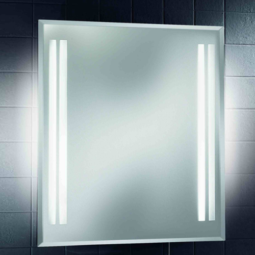 Led illuminated bathroom mirror led backlit mirrors for Mirror manufacturers